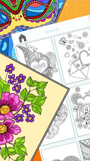 Colorish - free mandala coloring book for adults painmod.com screenshots 15
