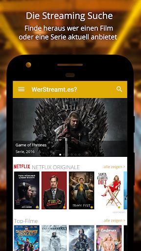 WerStreamt.es? u25b6 Filme & Serien 2.1.6 screenshots 1