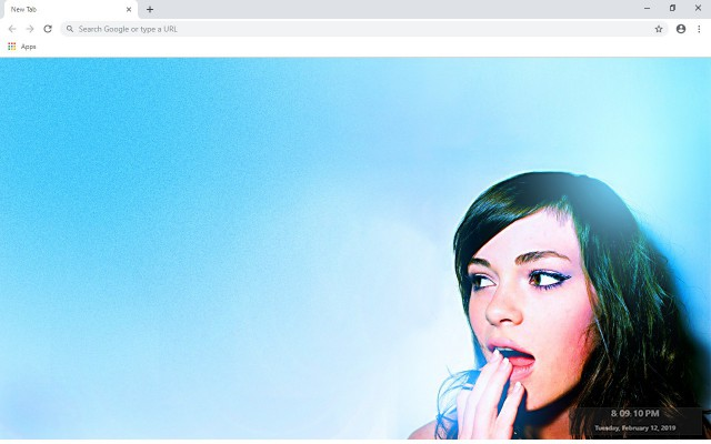 Uffie New Tab & Wallpapers Collection