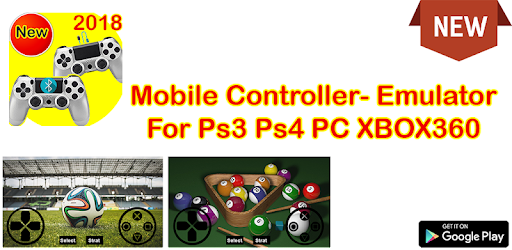 Mobile Controller- Emulator For Ps3 Ps4 PC XBOX360 on Windows PC