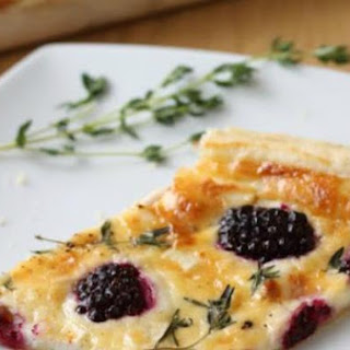 Blackberry and Goat's Cheese Tart