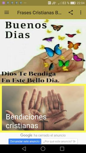 Frases Cristianas De Buenos Dias By Creative Image Apps