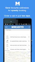 Screenshot of Minicabster - Book a Minicab