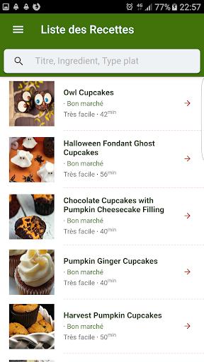 Halloween Recipes 1.0.1 screenshots 1