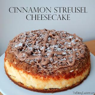 Streusel Cheesecake Recipes