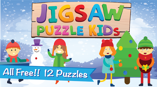 XMAS Santa's Claus Jigsaw Game