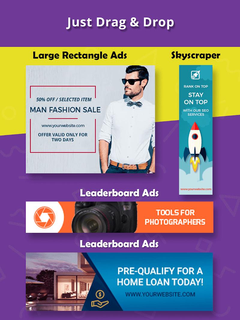 Banner Maker, Ad Maker, Web Banners, Graphic Art Screenshot 9
