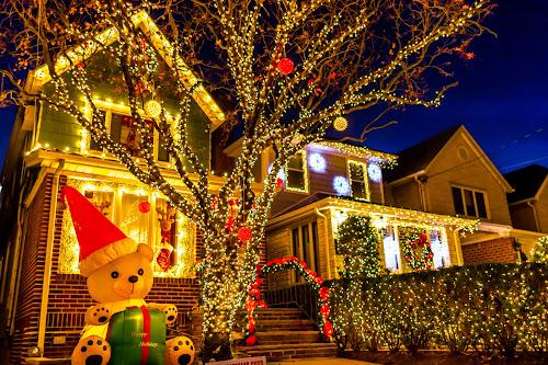 Happy holidays by Arnab Dutta - Public Holidays Christmas ( lights, christmas, holidays, brooklyn,  )