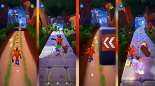 Subway Crash Jungle 3D Fox Bandi Game Adventures  screenshots 1