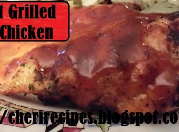 Great Grilled Bbq Chicken Recipe