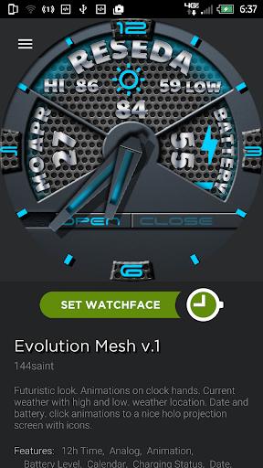 Evolution Mesh v1