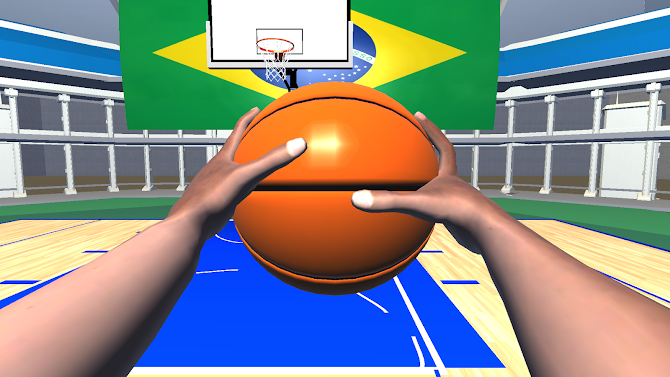 BASQUETE BASKETBALL VR FREE Android 2