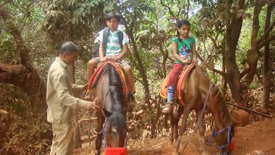 Photo: Do we like horse riding ?