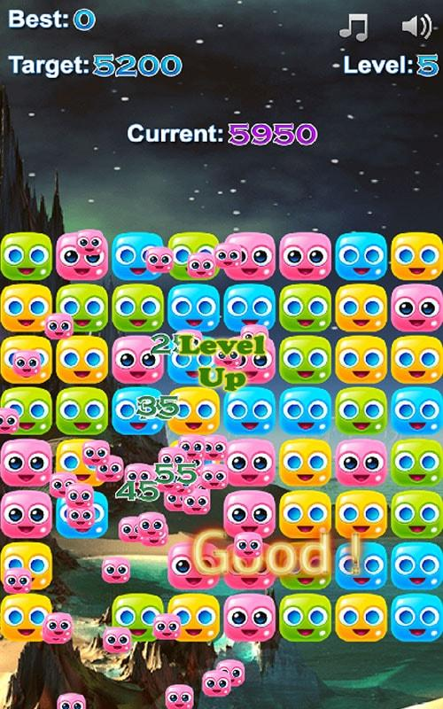 Jelly Cubes Mad- screenshot