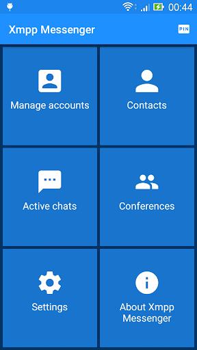 Xmpp Messenger - Pin-code, Jabber 12.0.6 screenshots 2