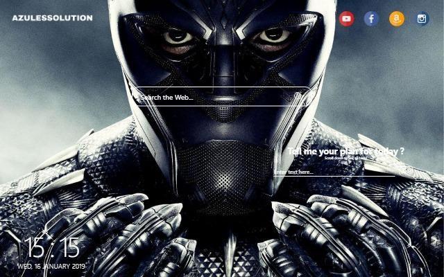 Black Panther Wallpaper - New Tab Theme