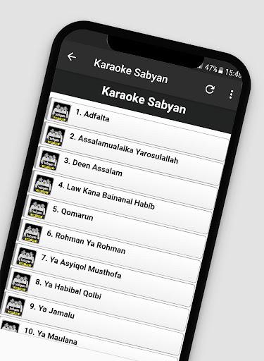 Lagu Sholawat Versi Sabyan Offline + Lirik 1.2 screenshots 3