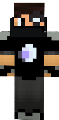 Finished version, His real name, Eric Pickett, is in his late 20's, he is known as BanditoBro, he raids dungeons, hideouts, and herobrines mansions, he got a nasty scar on his eye in the attempt with the enderdragon, he has to houses, one on the over world and one in the nether