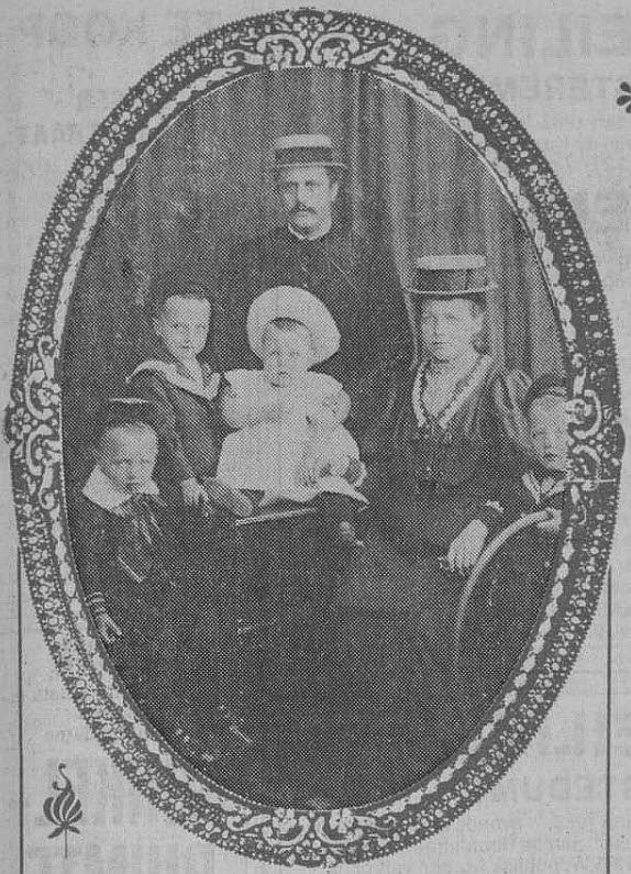 Gezin Jakob en Antje Bolt-Huizenga (met 4 zonen)