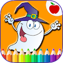 Happy Halloween Coloring Book