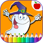 Happy Halloween Coloring Book Game icon