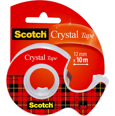 Tejp Scotch klar disp 10mx12mm