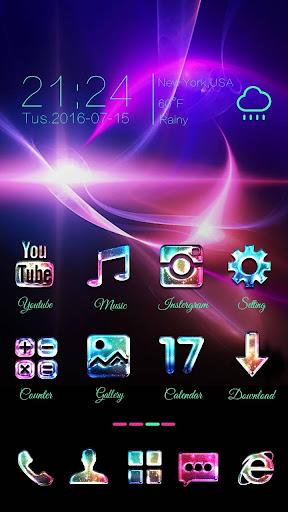 免費下載個人化APP|Galaxy Glass Go Launcher Theme app開箱文|APP開箱王