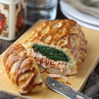 Baked Salmon en Croute