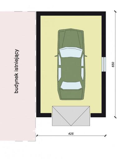 GP3 - Rzut garażu