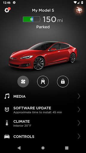 Tesla screenshot 1