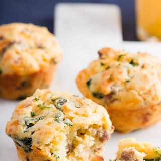 Loaded Savory Breakfast Muffins.