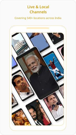Dailyhunt (Newshunt)-Election, Cricket-News, Video 12.1.13 screenshots 1