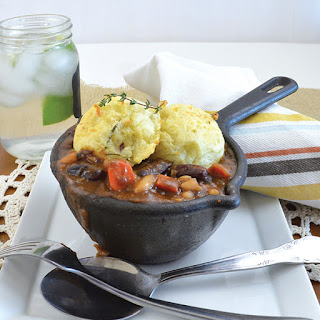 Vegan Kidney Bean Cottage Pie Bowl.