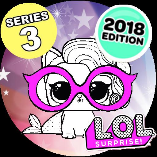Color LOL Surprise Dolls and Pets series 3