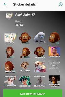 GraciosoStickers WAStickerApps Memes Momazos Pack Screenshot
