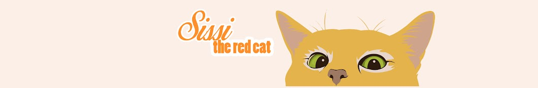Sissi The Red Cat Banner