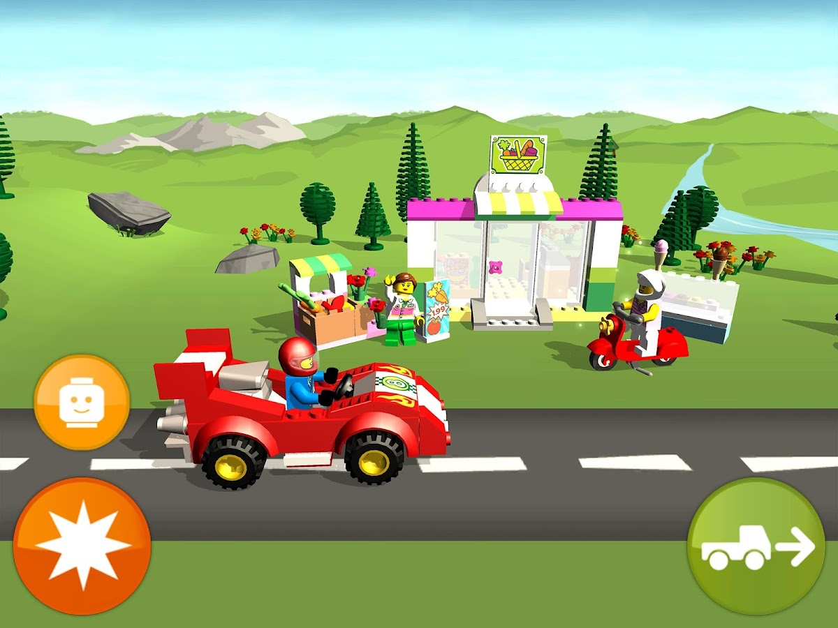 Create Your Own Car Games And Drive It >> LEGO® Juniors Create & Cruise - Android Apps on Google Play