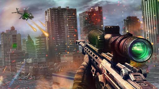 Code Triche Mountain Sniper Shooter Cover Agent APK MOD screenshots 1