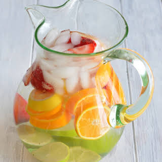 Strawberry Citrus Water.