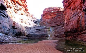Photo: Joffre Gorge, Karijini National Park, Western Australia