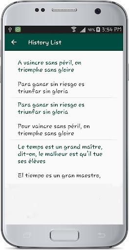 French Spanish Translate 1.1 screenshots 18