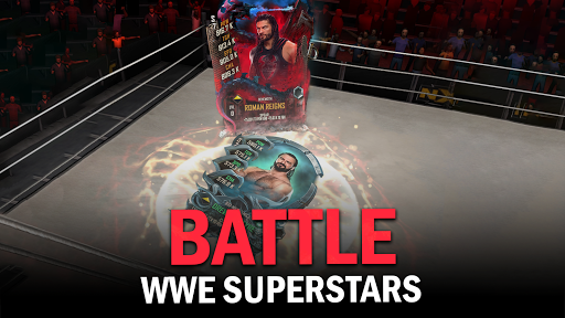 WWE SuperCard - Multiplayer Collector Card Game screenshot 1