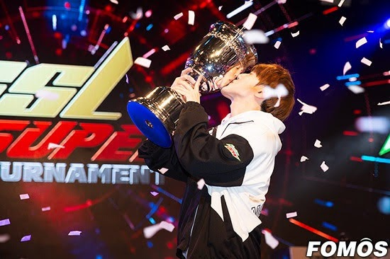 Kim Doh-woo won the GSL Super Tournament 2019 Season 1