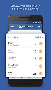wetter.tv - Wetter Deutschland - náhled