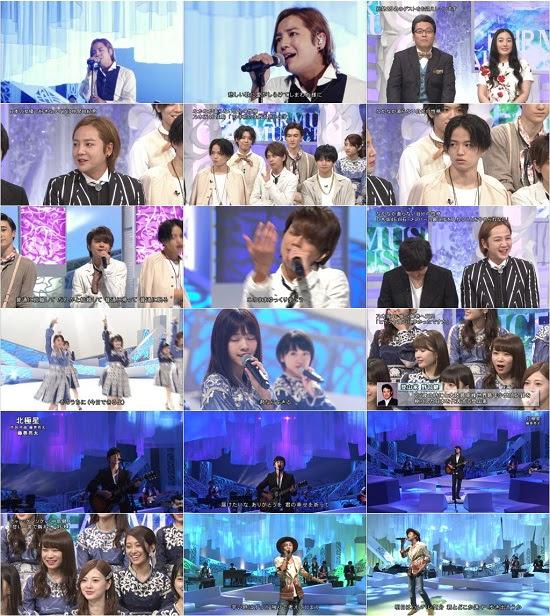 (TV-Music)(1080i+720p) 乃木坂46 – Music Fair 171007