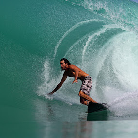 Mysto Wave by Paul Kennedy - Sports & Fitness Surfing ( surfing, surfer, tropical, sea, bottom turn, ocean, barrel )