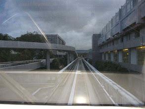 Photo: vlak mezi terminály