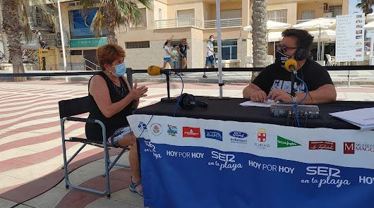 La Cadena SER finaliza el verano de ruta por las playas de Almería