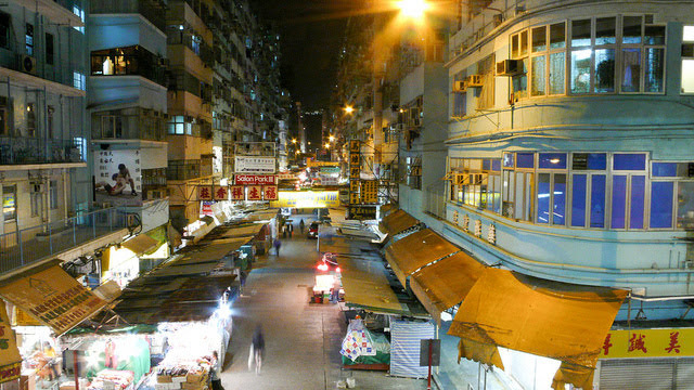 Hong Kong, Night Market, 香港, 夜市