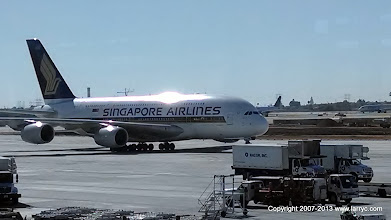 Photo: Singapore Airlines, A380 at LAX